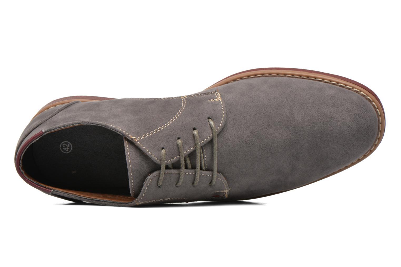 Schnürschuhe I Love Shoes KERED grau ansicht von links