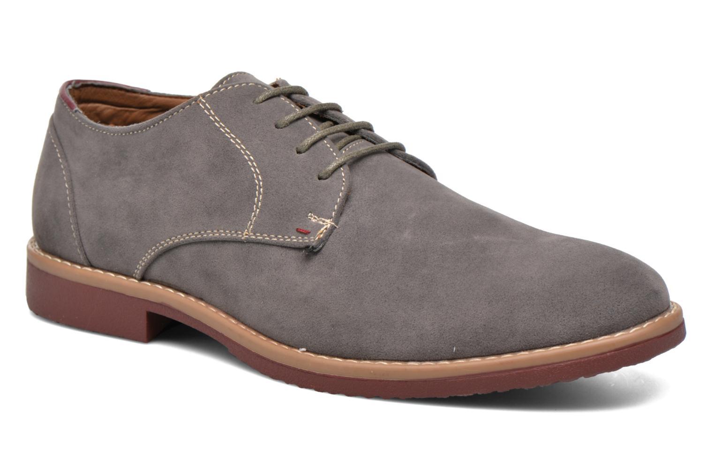 Chaussures à lacets I Love Shoes KERED Gris vue détail/paire
