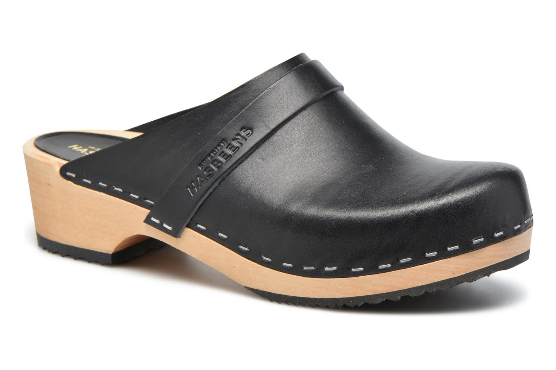 Zapatos promocionales Swedish Hasbeens Swedish Husband (Negro) - Zuecos   Zapatos casuales salvajes