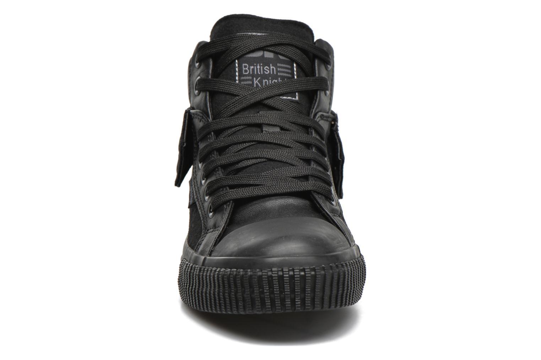 Baskets British Knights Roco M Noir vue portées chaussures
