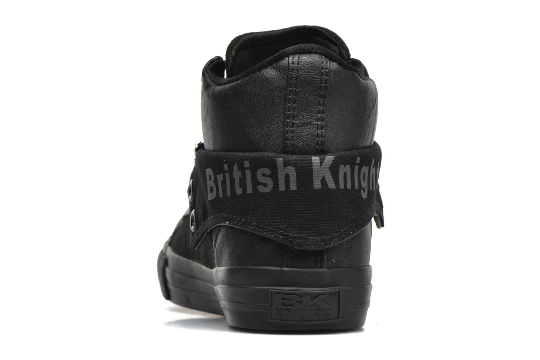 Baskets British Knights Roco M Noir vue droite