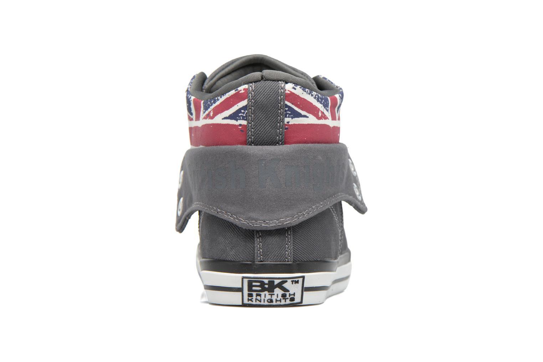 Baskets British Knights Roco M Gris vue droite
