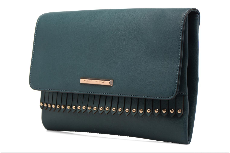 Fringe Stud Backpack Green