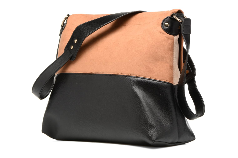 Bolsos de mano Dorothy Perkins Colour Block Bag Marrón vista lateral derecha