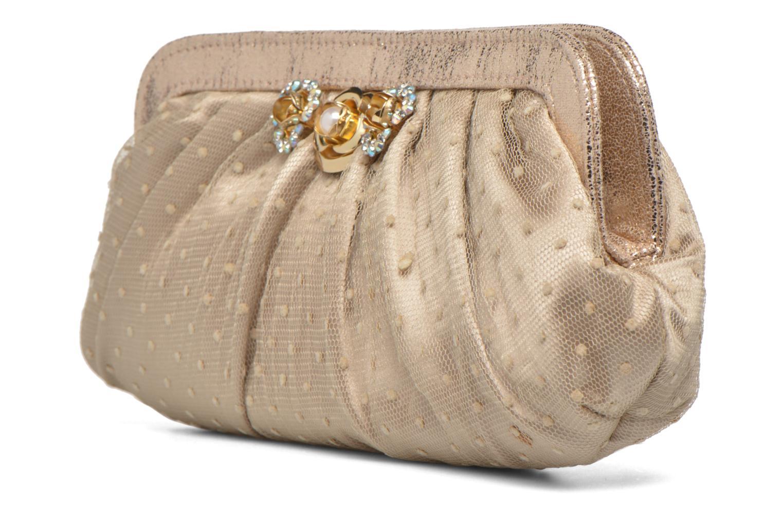Sacs pochettes Menbur 84088 Beige vue portées chaussures