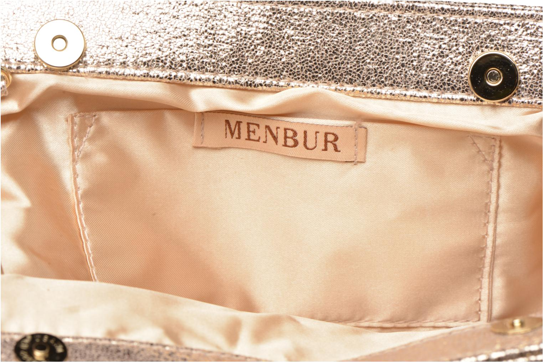 Sacs pochettes Menbur 84088 Beige vue derrière