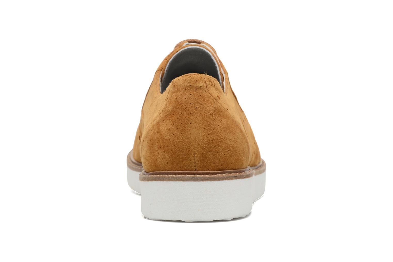 Chaussures à lacets Ippon Vintage Andy Pics Marron vue droite