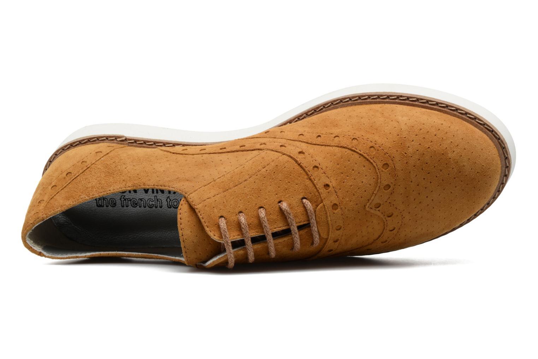 Chaussures à lacets Ippon Vintage Andy Pics Marron vue gauche