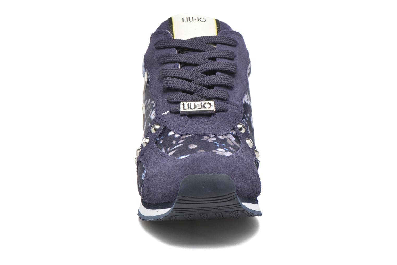 Baskets Liu Jo Running Sakura Bleu vue portées chaussures