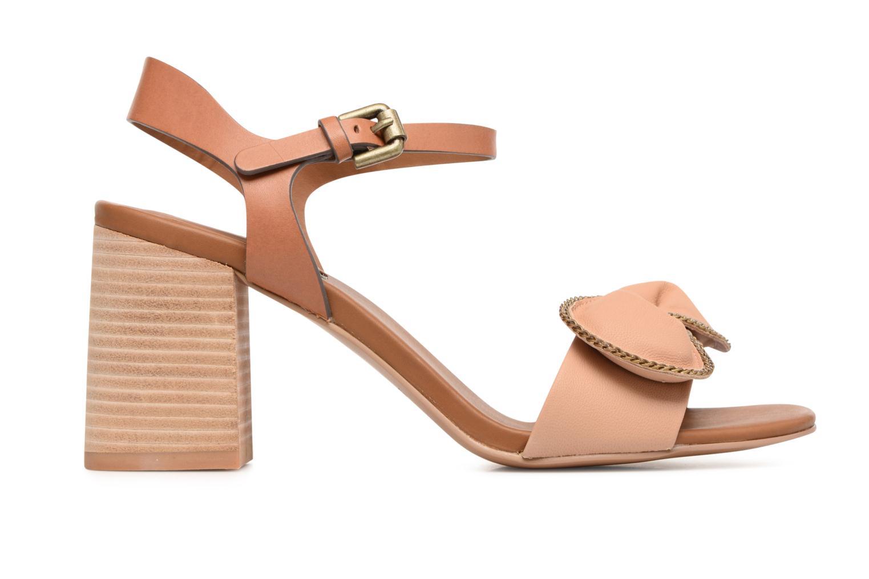 Sandales et nu-pieds See by Chloé Clara High Beige vue derrière