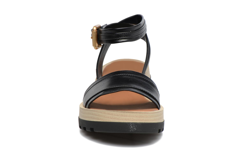 Sandalias See by Chloé Robin Sandal Negro vista del modelo