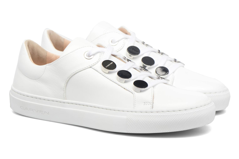 Sneakers Carven Resonance 2 Wit 3/4'