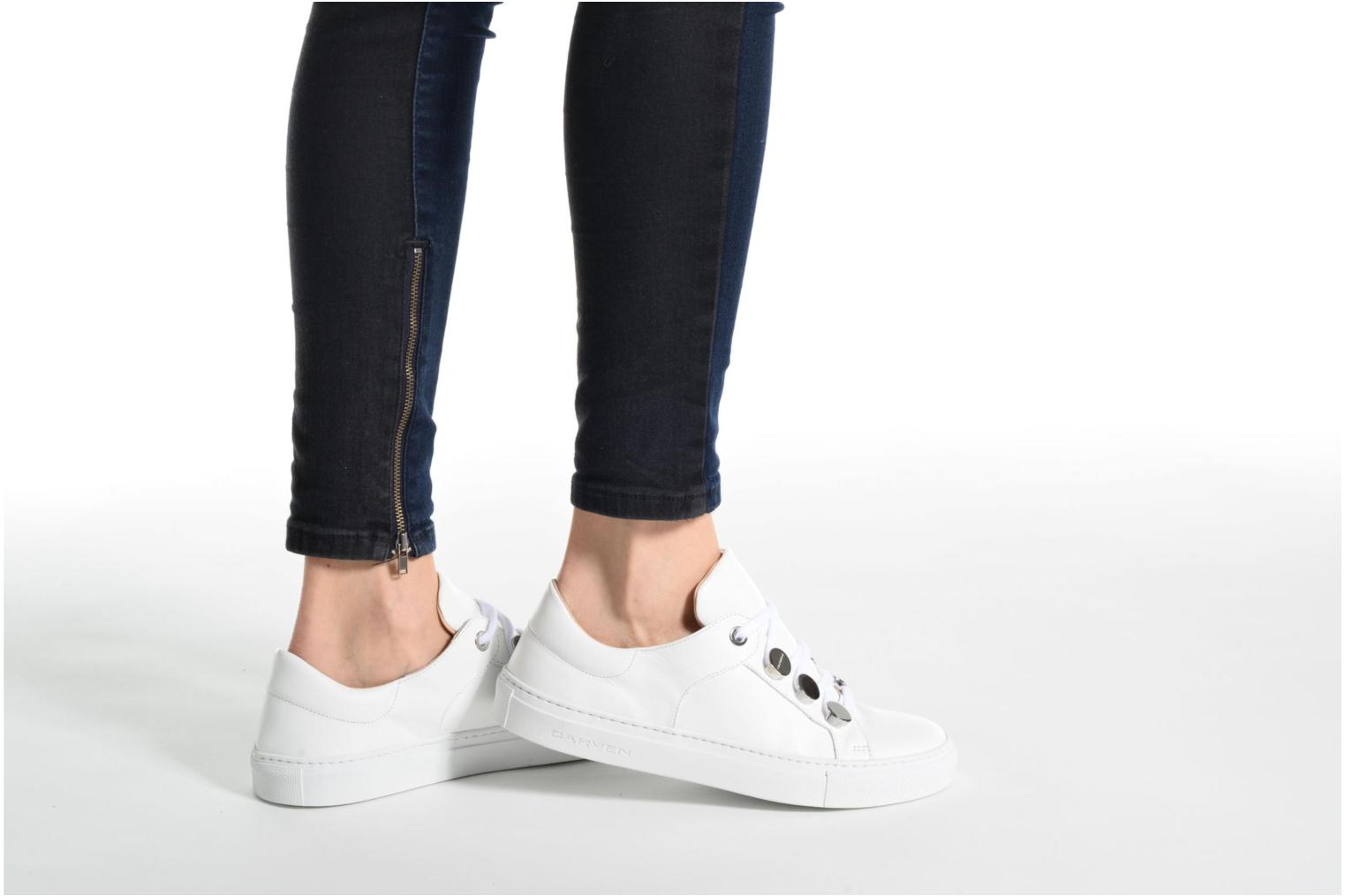 Trainers Carven Resonance 2 White view from underneath / model view