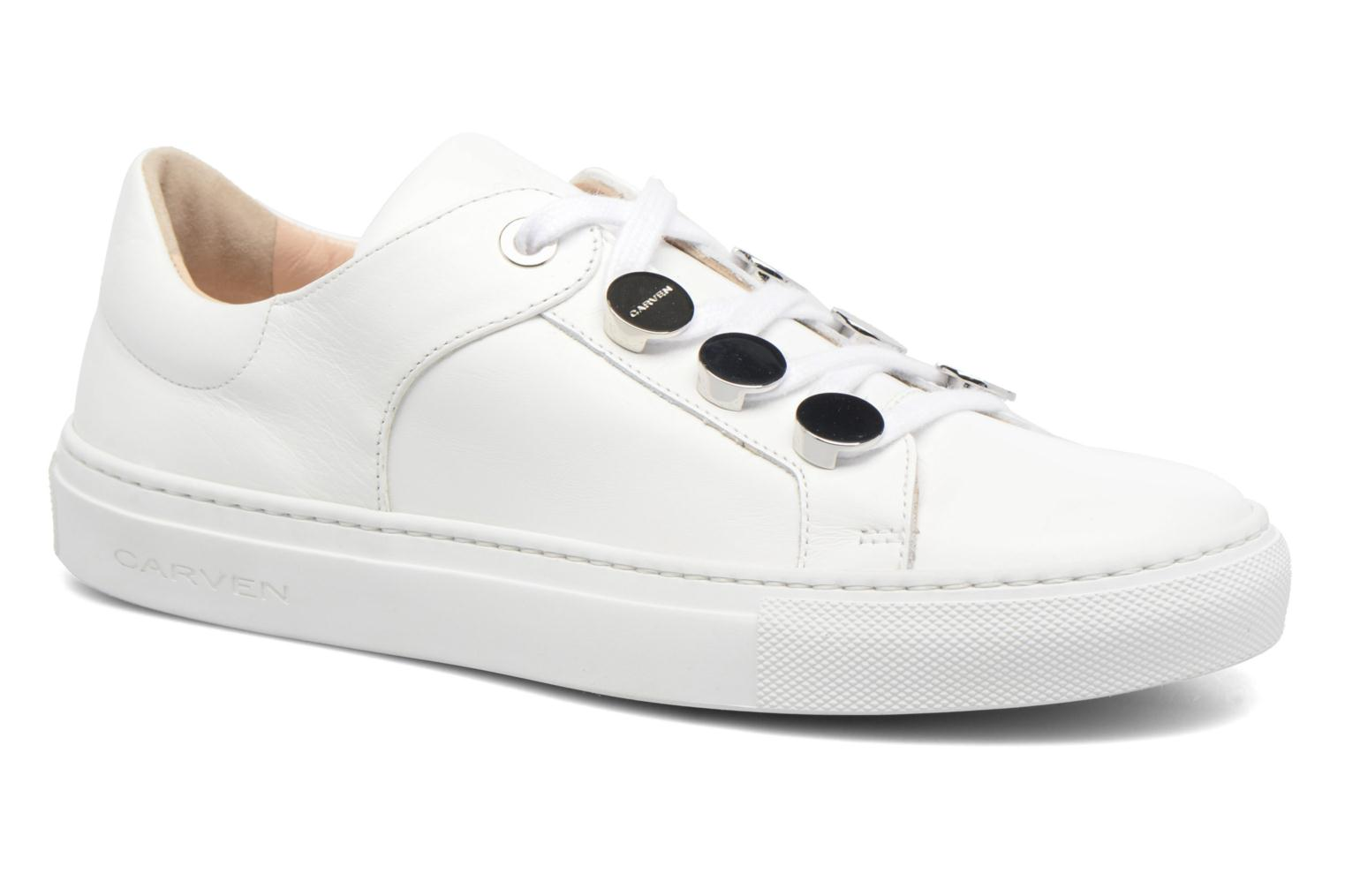 Sneakers Carven Resonance 2 Wit detail