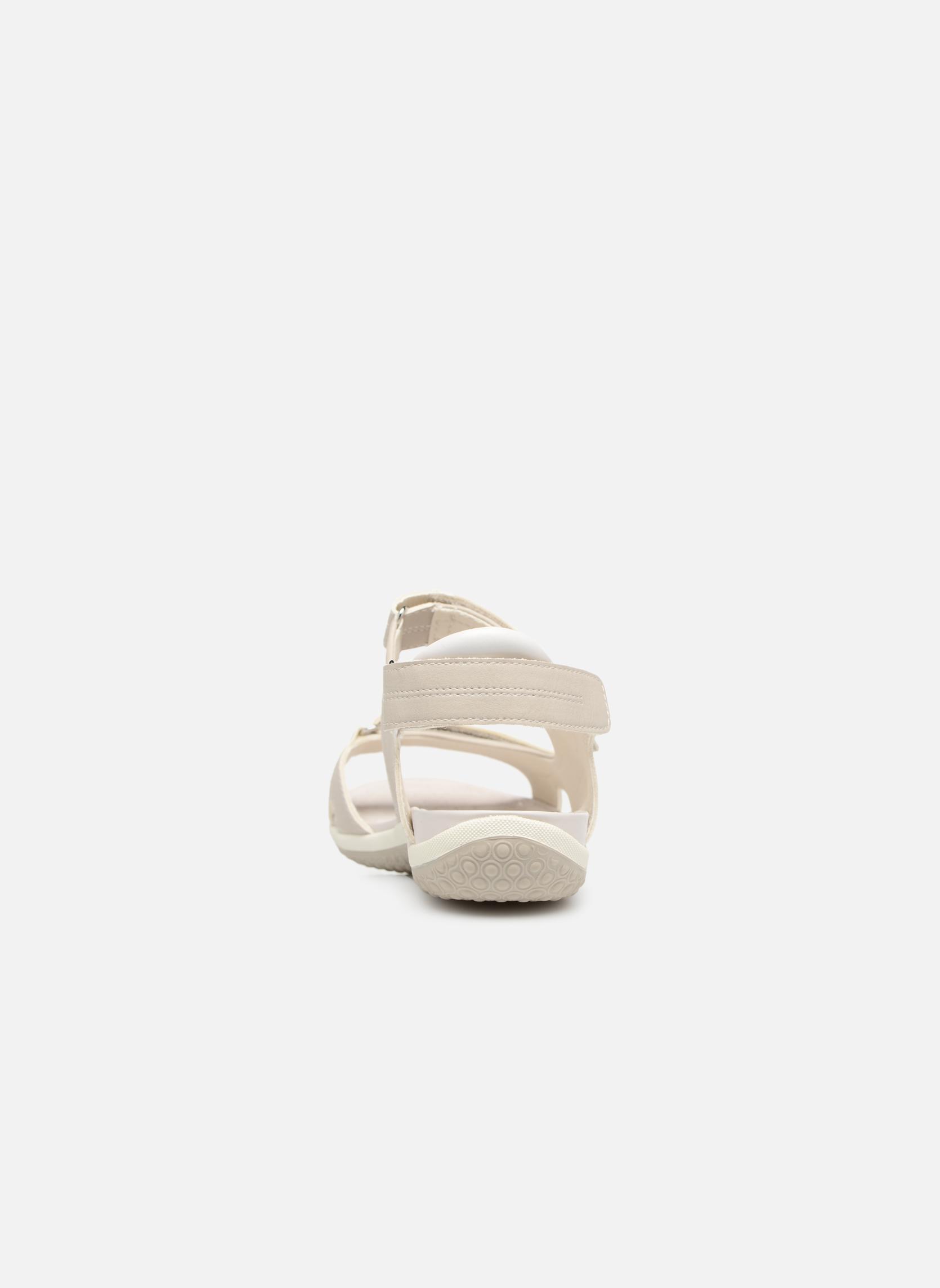 Sandali e scarpe aperte Geox D SAND.VEGA A D52R6A Grigio immagine destra