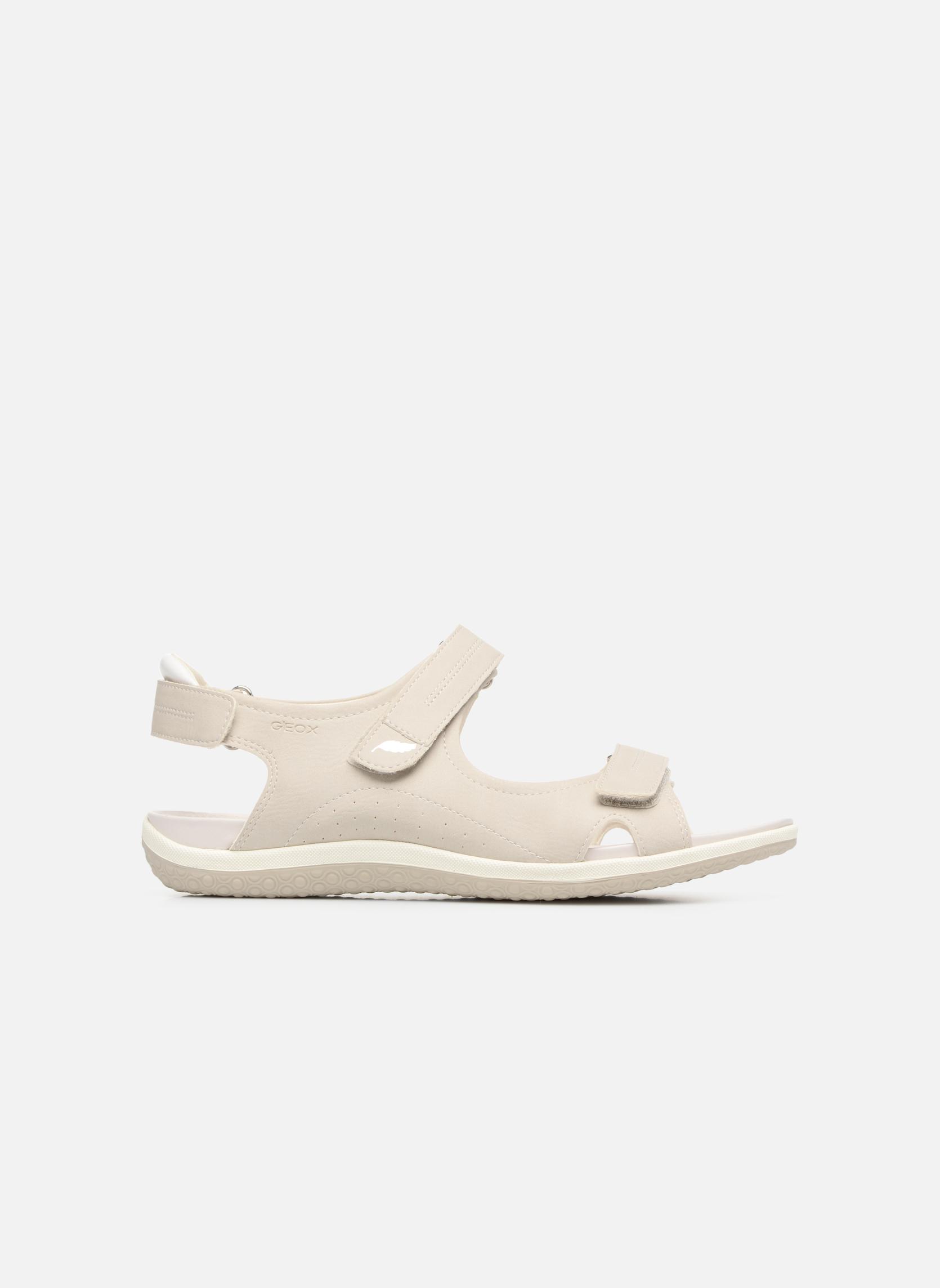 Sandali e scarpe aperte Geox D SAND.VEGA A D52R6A Grigio immagine posteriore