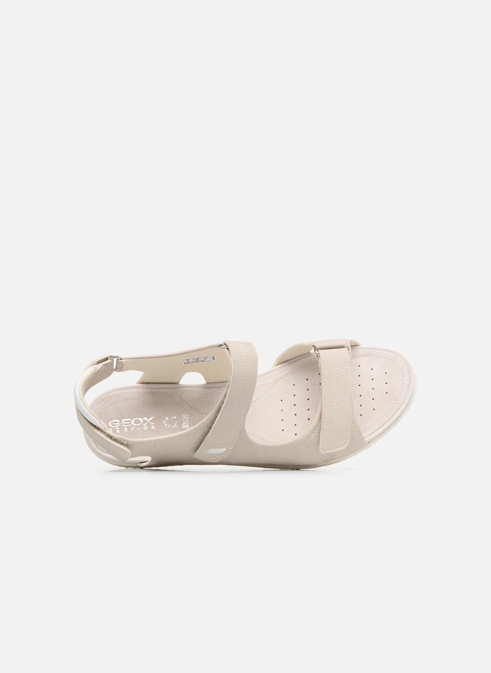 Sandali e scarpe aperte Geox D SAND.VEGA A D52R6A Grigio immagine sinistra
