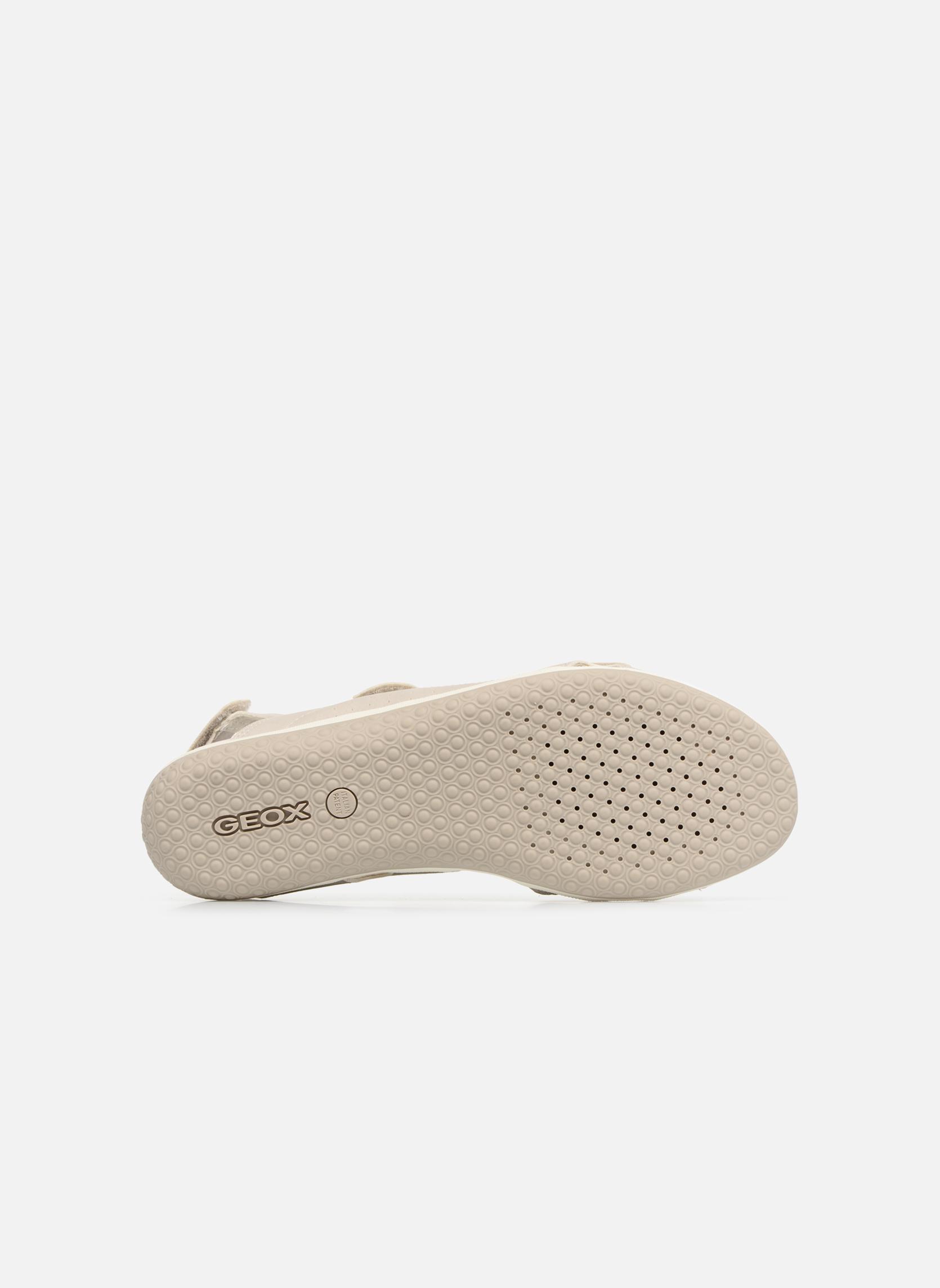 Sandali e scarpe aperte Geox D SAND.VEGA A D52R6A Grigio immagine dall'alto