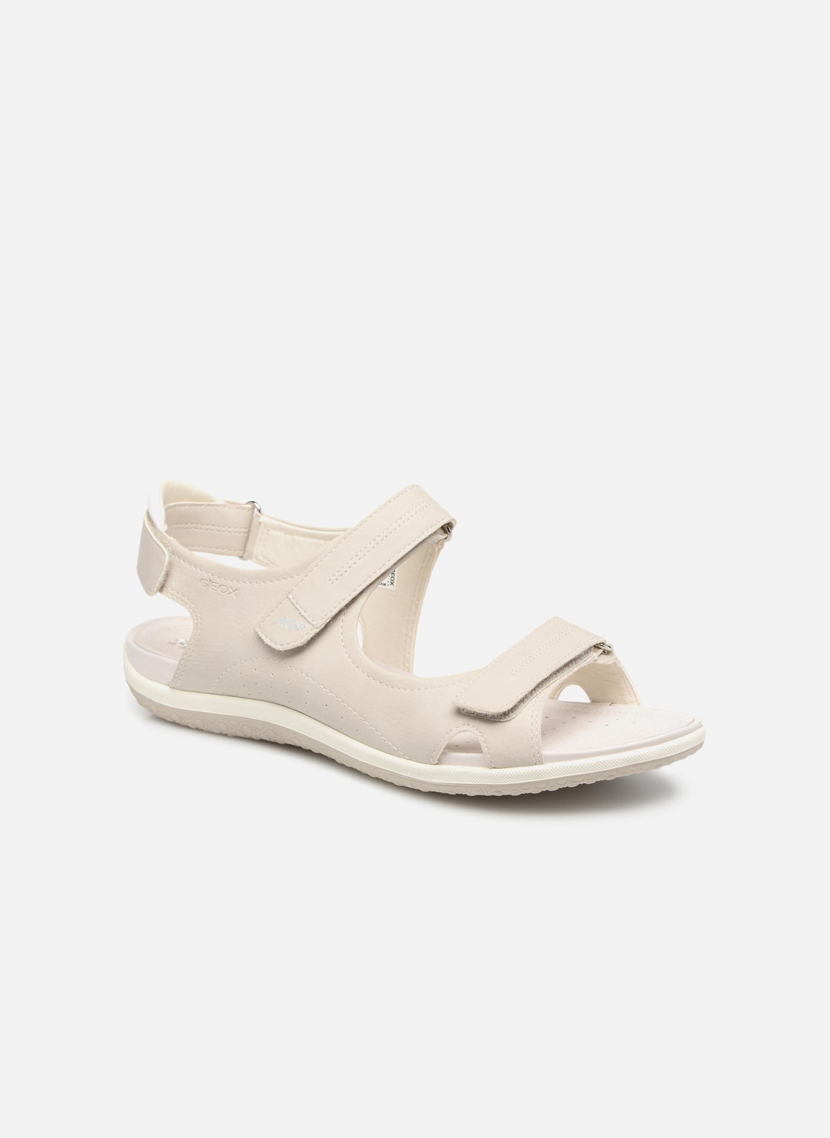 Sandaler Geox D SAND.VEGA A D52R6A Grå detaljeret billede af skoene