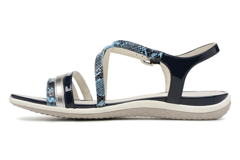 Sandales et nu-pieds Geox D SAND.VEGA C D62R6C Bleu vue face