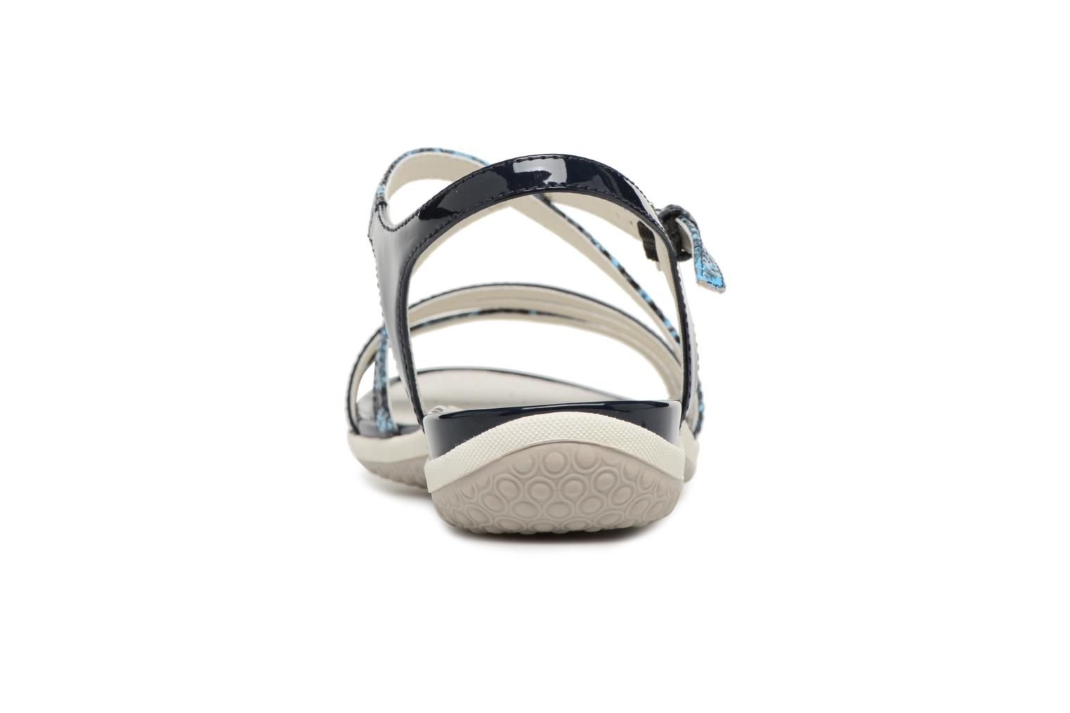 Sandals Geox D SAND.VEGA C D62R6C Blue view from the right