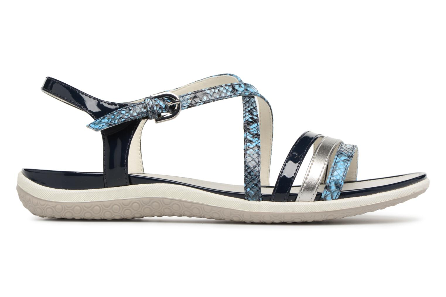 Sandals Geox D SAND.VEGA C D62R6C Blue back view