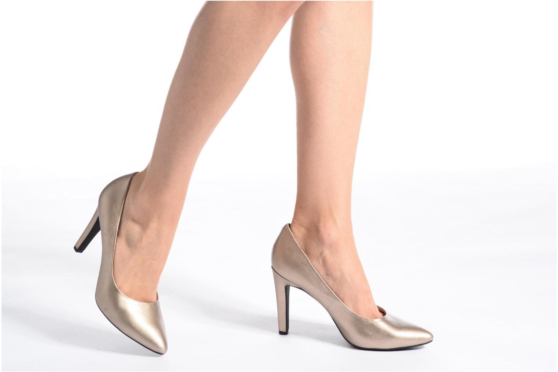 Zapatos de tacón Geox D CAROLINE C D62W1C Oro y bronce vista de abajo