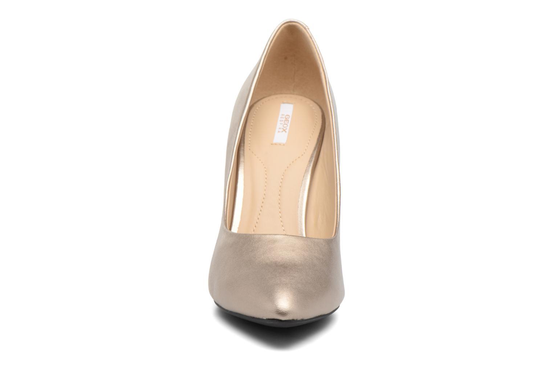 Escarpins Geox D CAROLINE C D62W1C Or et bronze vue portées chaussures
