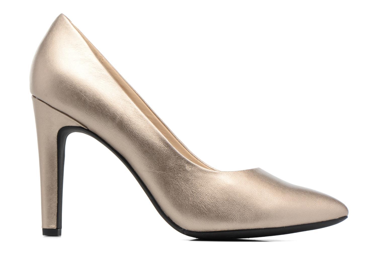 Zapatos de tacón Geox D CAROLINE C D62W1C Oro y bronce vistra trasera