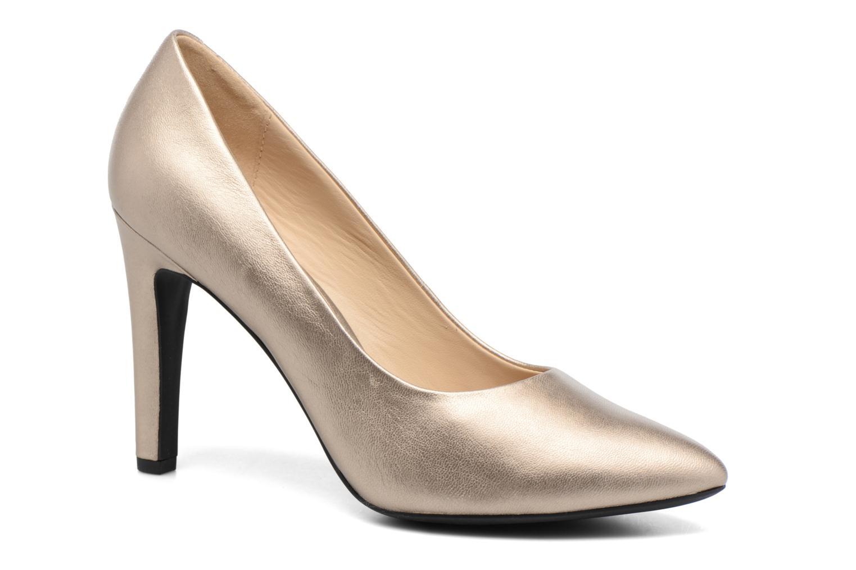 Zapatos de tacón Geox D CAROLINE C D62W1C Oro y bronce vista de detalle / par
