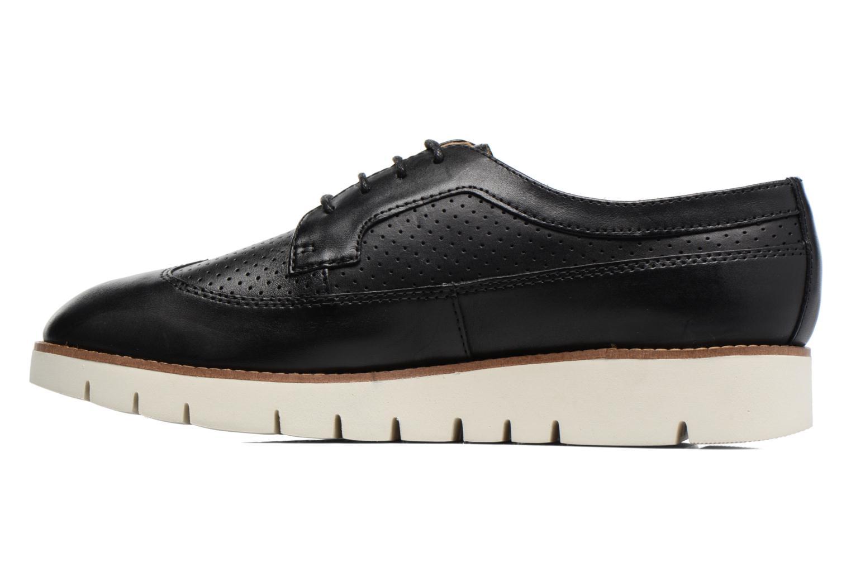 Chaussures à lacets Geox D BLENDA A D720BA Noir vue face