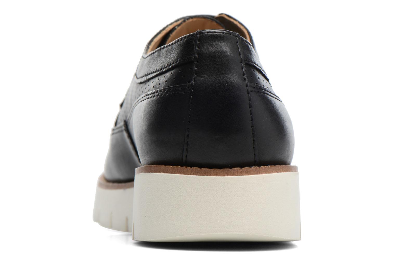 Chaussures à lacets Geox D BLENDA A D720BA Noir vue droite