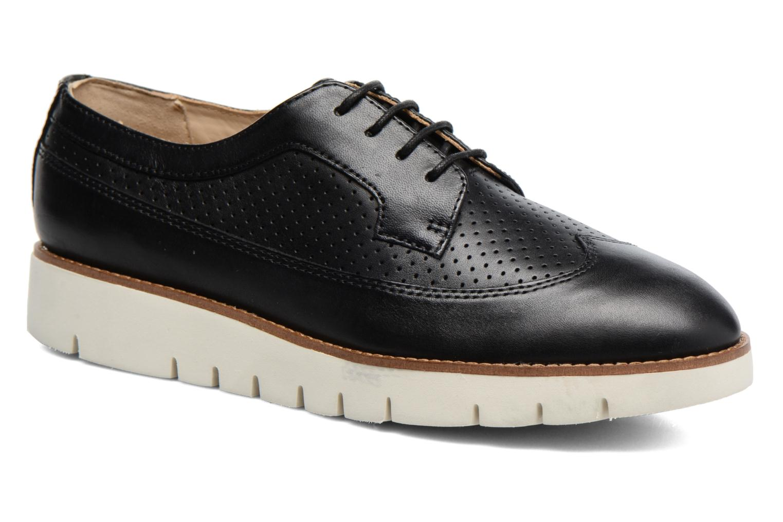 Chaussures à lacets Geox D BLENDA A D720BA Noir vue détail/paire