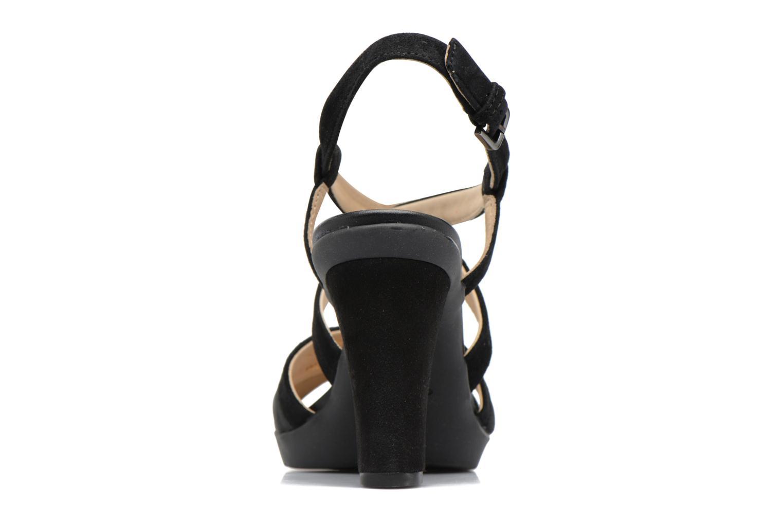 Sandales et nu-pieds Geox D JADALIS B D721VB Noir vue droite