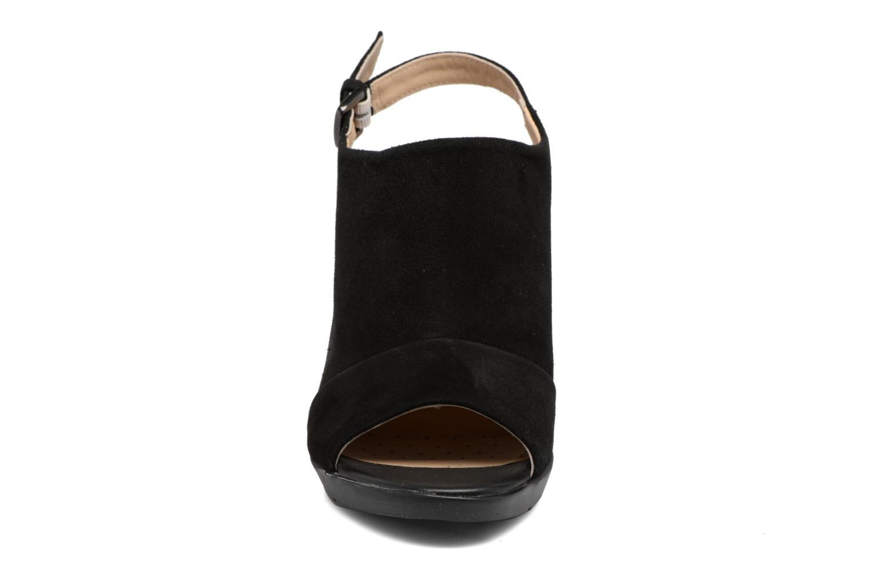Sandales et nu-pieds Geox D JADALIS C D721VC Noir vue portées chaussures