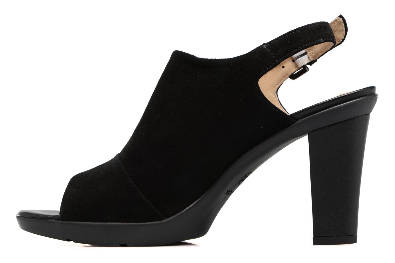 Sandales et nu-pieds Geox D JADALIS C D721VC Noir vue face