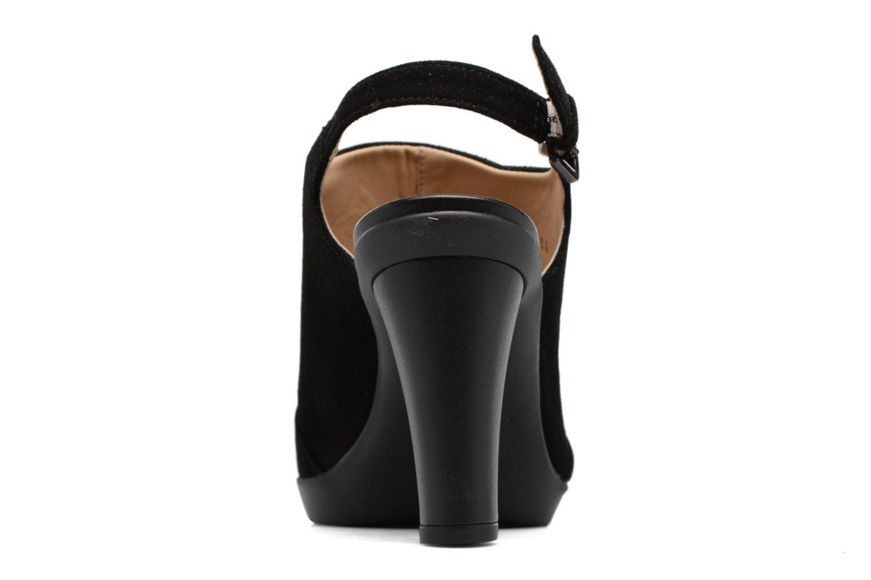 Sandales et nu-pieds Geox D JADALIS C D721VC Noir vue droite
