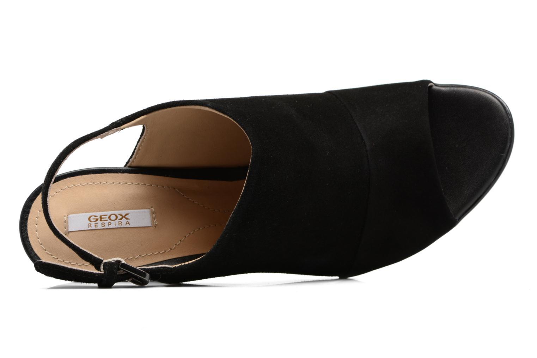 Sandales et nu-pieds Geox D JADALIS C D721VC Noir vue gauche