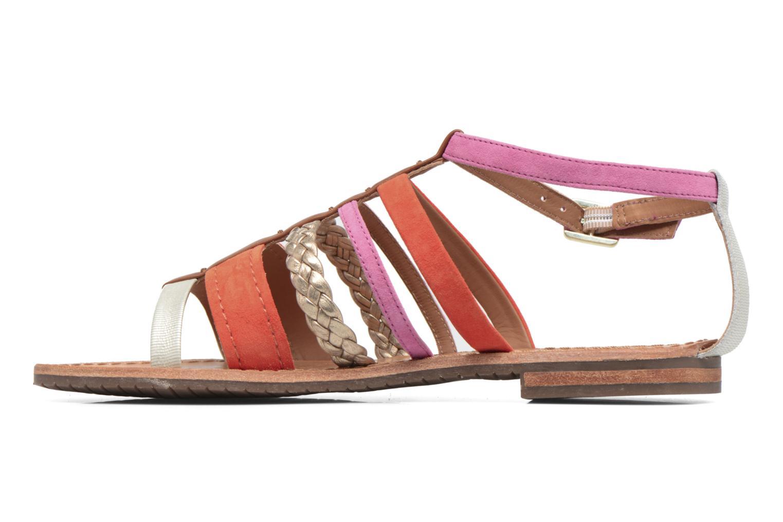Sandals Geox D SOZY E D722CE Orange front view