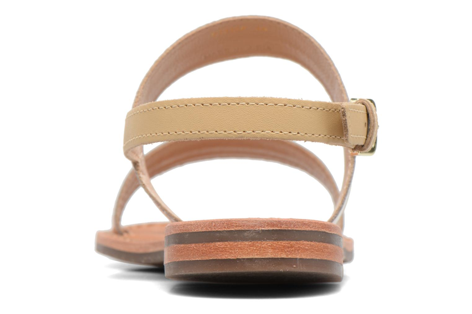 Sandals Geox D SOZY F D722CF Beige view from the right