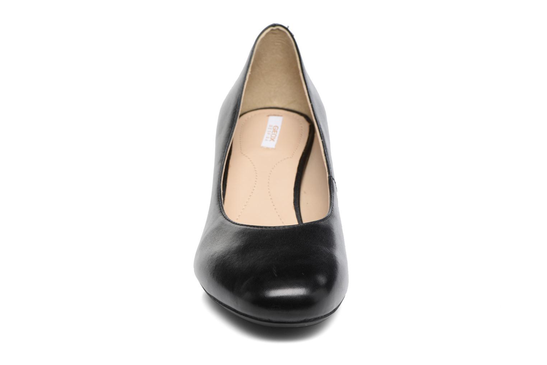 Høje hæle Geox D AUDALIES M. A D723YA Sort se skoene på