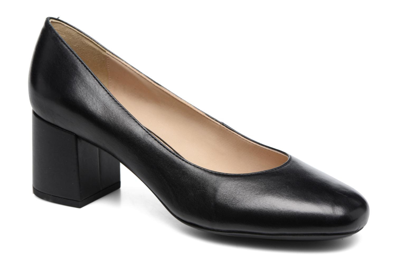 Høje hæle Geox D AUDALIES M. A D723YA Sort detaljeret billede af skoene