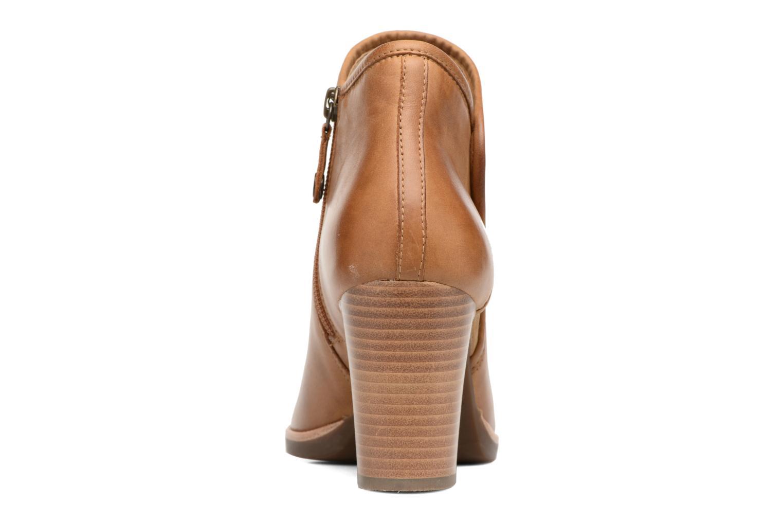 Bottines et boots Geox D NEW CALLIE B D7240B Marron vue droite