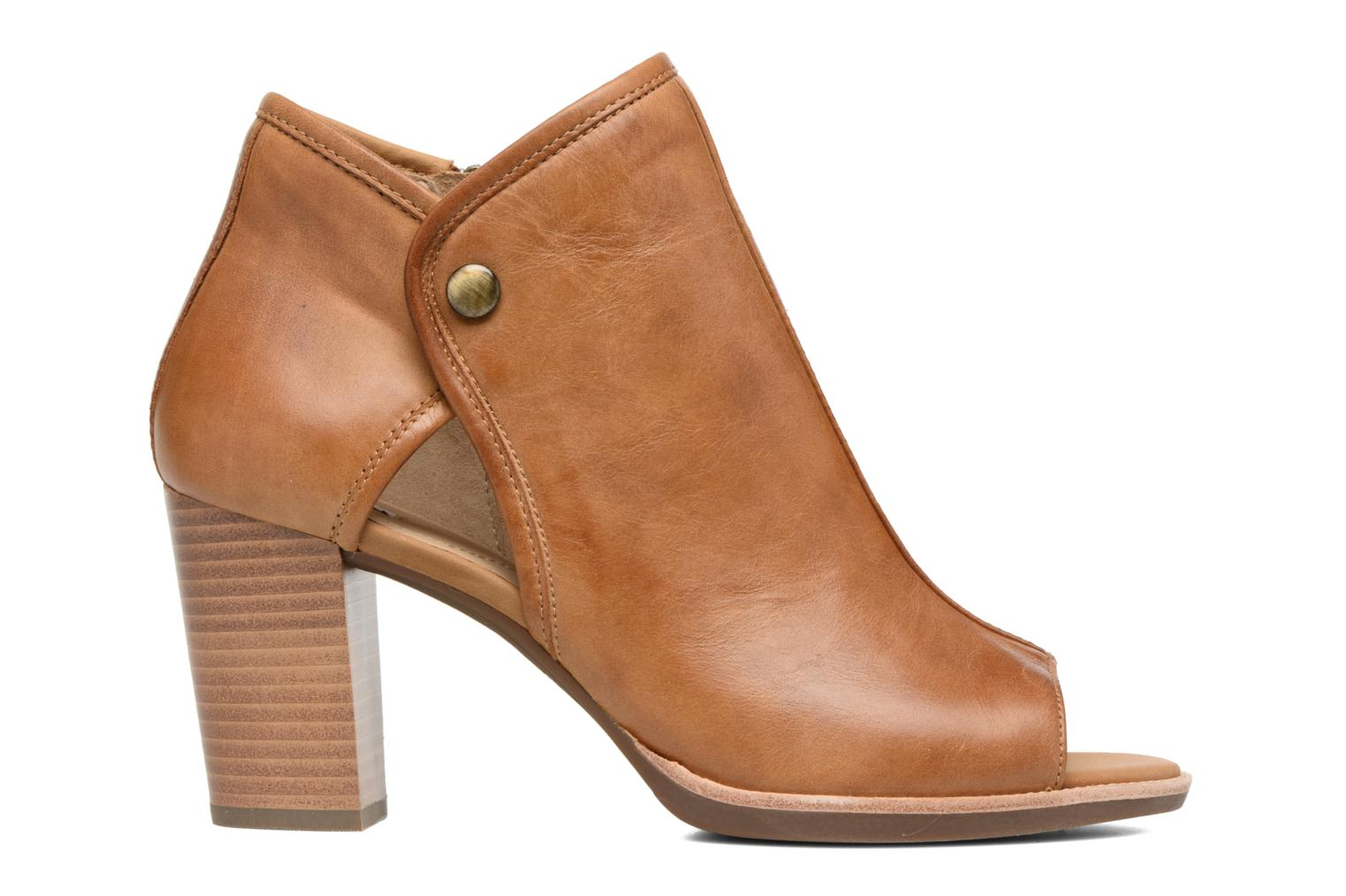 Ankle boots Geox D NEW CALLIE B D7240B Brown back view
