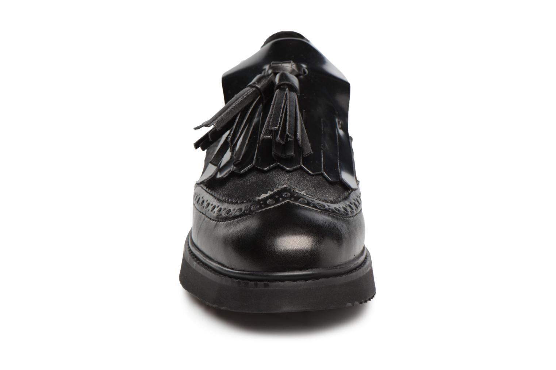 Mocassins Geox D THYMAR C D724BC Noir vue portées chaussures