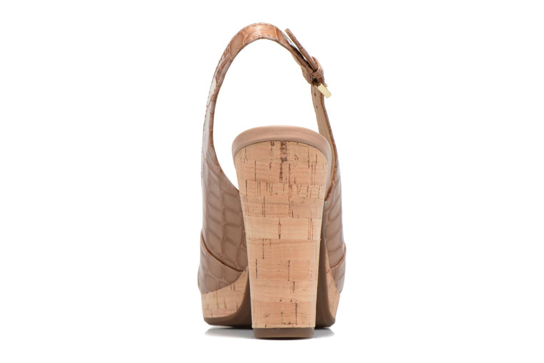 Sandali e scarpe aperte Geox D MAUVELLE C D724LC Beige immagine destra