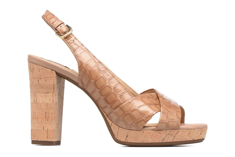 Sandali e scarpe aperte Geox D MAUVELLE C D724LC Beige immagine posteriore