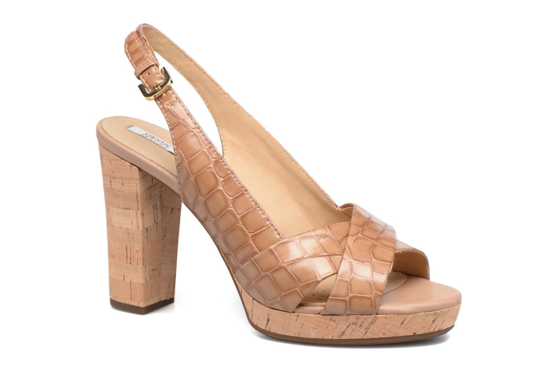 Sandales et nu-pieds Geox D MAUVELLE C D724LC Beige vue détail/paire