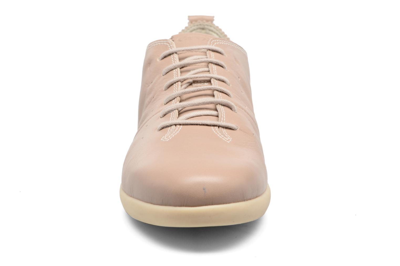 Sneaker Geox D NEW DO A D724NA beige schuhe getragen