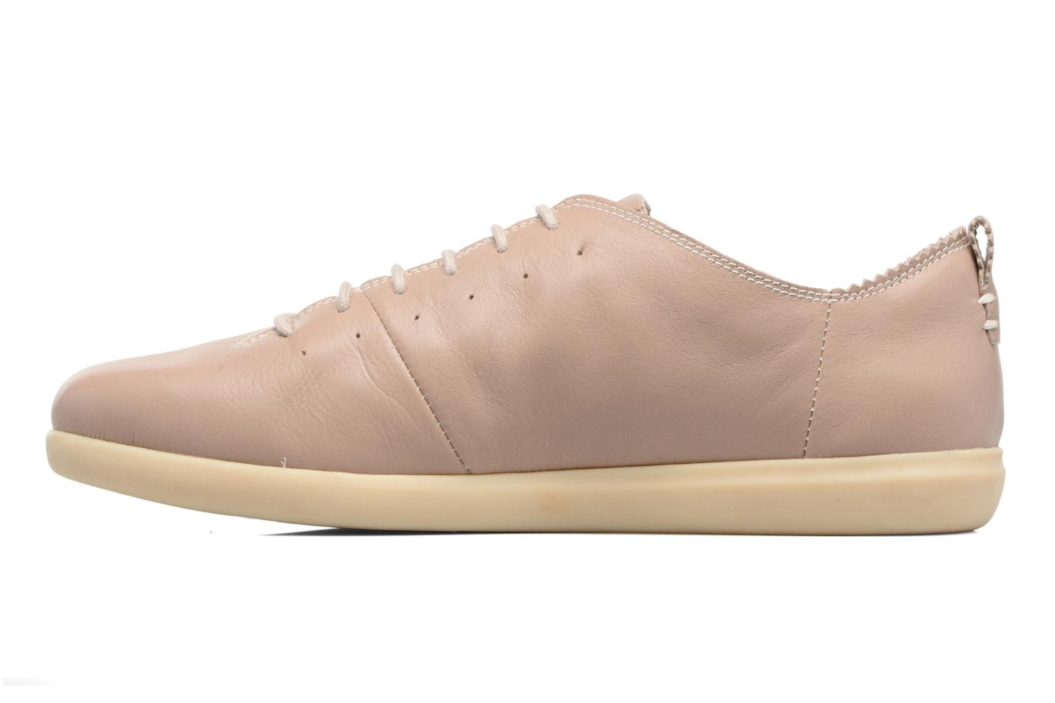Trainers Geox D NEW DO A D724NA Beige front view